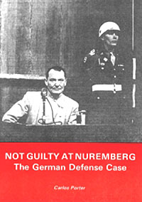 Porter: Not Guilty at Nuremburg