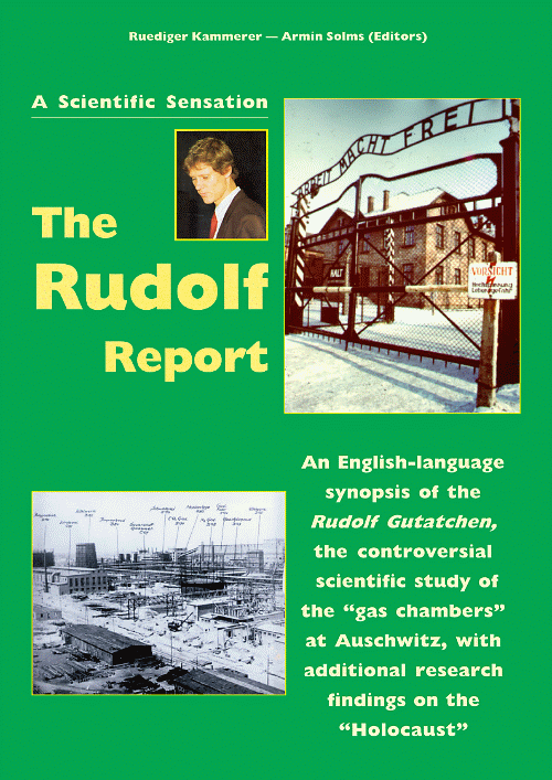 Image result for the Rudolf report