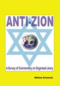 Antizion  A Survey of Commentary on Organized Jewry